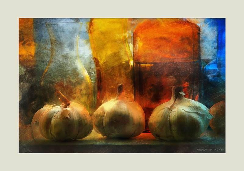 натюрморт гарлик. студия непрерывного света N26photo preview