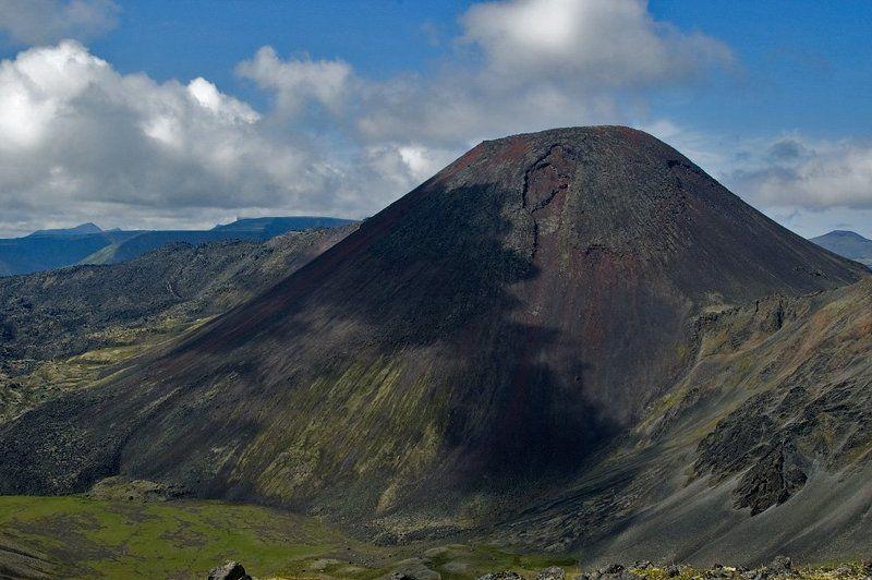 камчатка, срединный, хребет, вулкан, ичинский, северный, черпук Северный черпукphoto preview