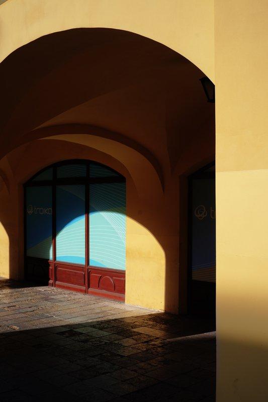 арки, свет, геометрия Своды.photo preview