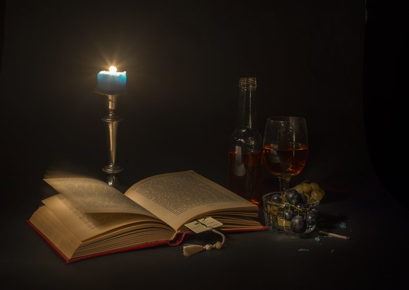 light,candela,book,grape, book&lightphoto preview