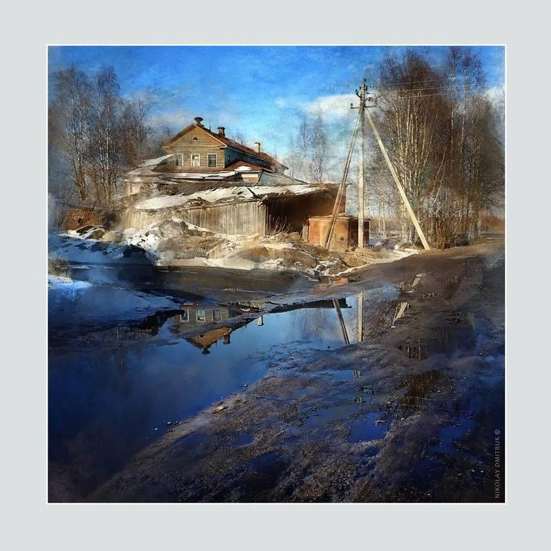 город апрель Холмогоры. эстетика ебеней. 2019photo preview