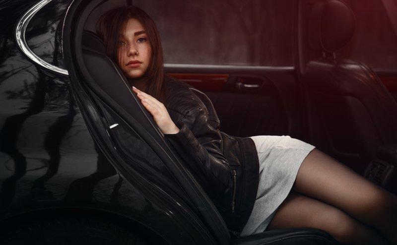girl, портрет, авто Vikkiphoto preview