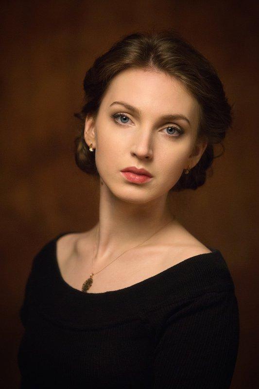 портрет, девушка, актриса Александраphoto preview