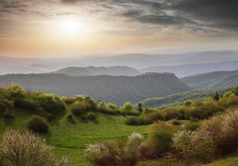 горы,весна,пейзаж,дагестан,кавказ Весна в горах.. фото превью
