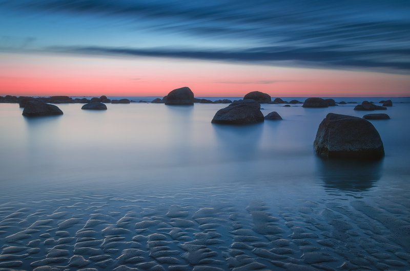 longexposure, финский залив, камни, пейзаж, природа, seascape, landscape, nature Финский заливphoto preview