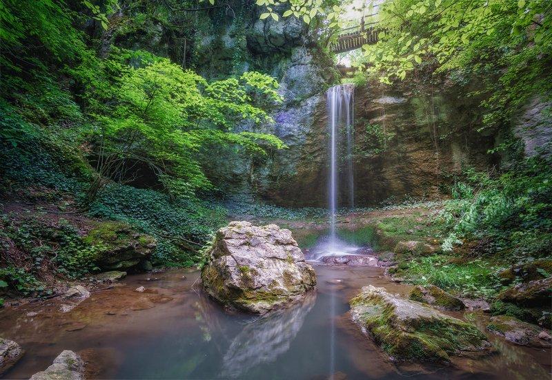Водопад Карталаphoto preview
