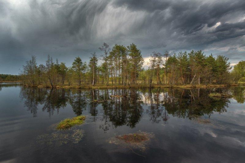 горы, облака, природа, рассвет, пейзаж, путешествие, россия, озеро Весна на Красном озереphoto preview