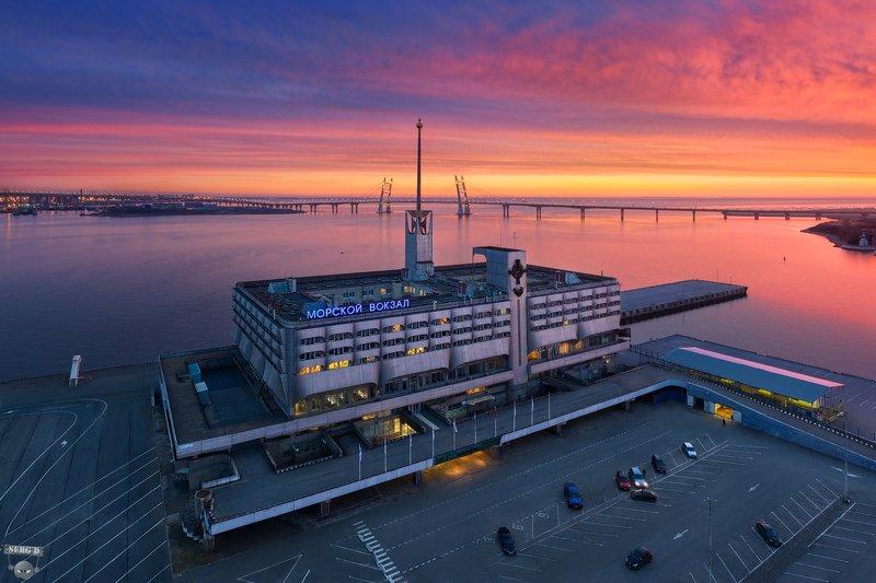 Морской вокзал, Большая Неваphoto preview