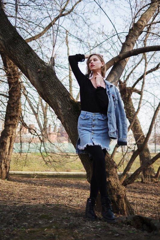 fashion, дерево, портрет ***photo preview