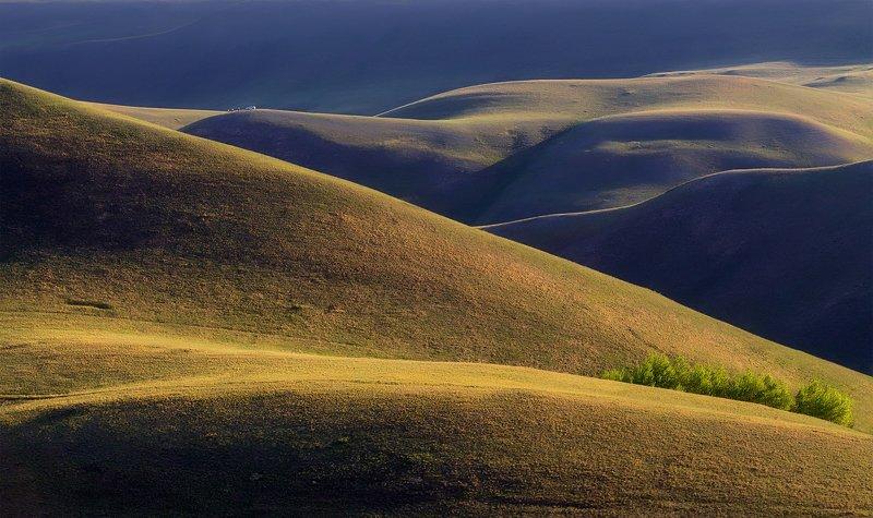 горы, урал, вечер Прогулки в горахphoto preview