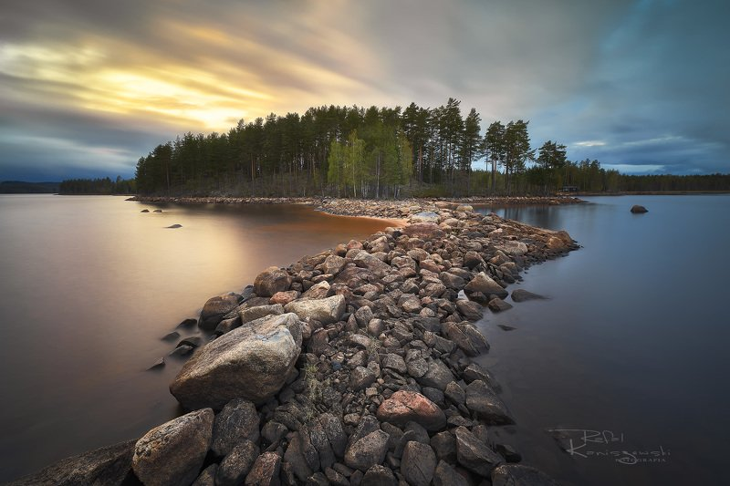 island, sunset,clouds,sky,trres,rocks,water,landscape,nature, Islandphoto preview
