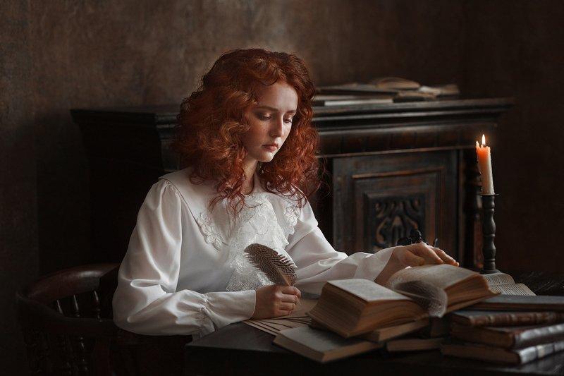 портрет, девушка, girl Джейн Остинphoto preview