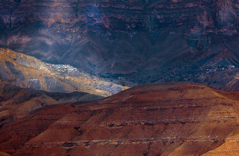 горы,весна,пейзаж,аул,дагестан Горный Дагестан.. фото превью
