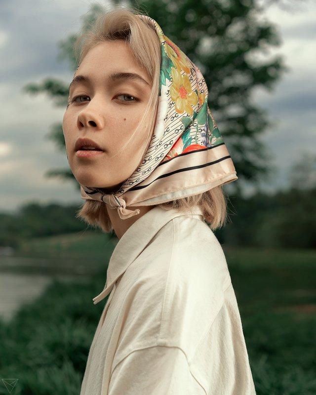Женский портрет, портрет, природа, portrait, women, красивый портрет, взгляд  photo preview