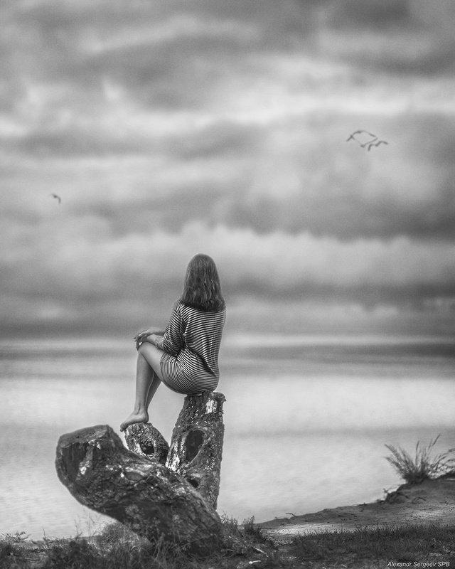 девушка,романтика,красота,нежность,гармония,настроение,балтика Лирика Балтикиphoto preview