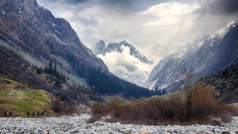 кыргызстан, горы Музыка весныphoto preview