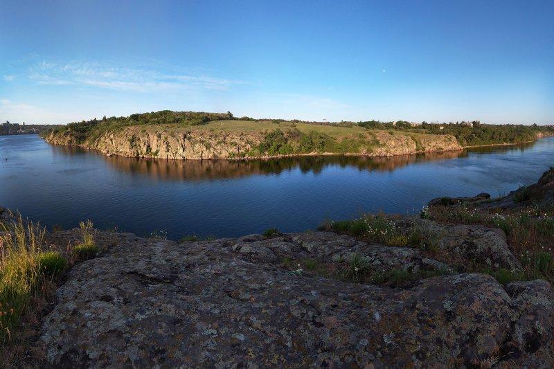 пейзаж,скалы,берег,река,закат, ***photo preview
