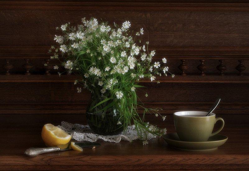 сергей алексеев, натюрморт Чай с лимономphoto preview