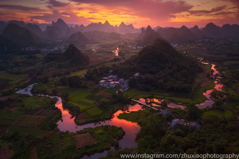 пейзаж китай путешествие Пейзаж из Китаяphoto preview