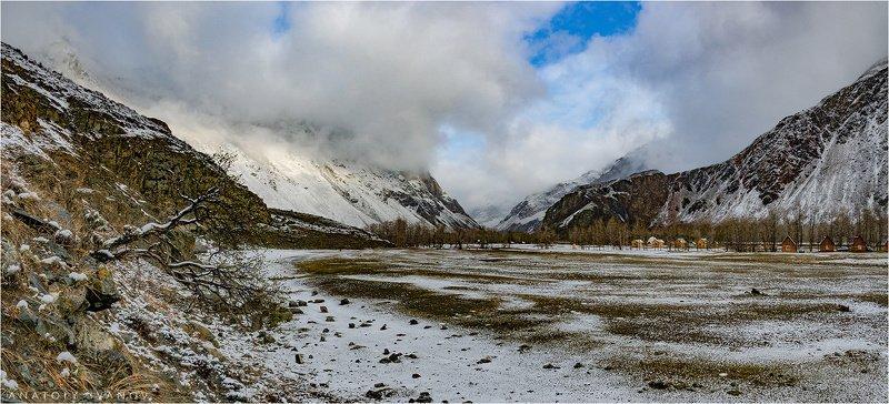 алтай, чулышман, снег, май, весна Май в долине Чулышманаphoto preview