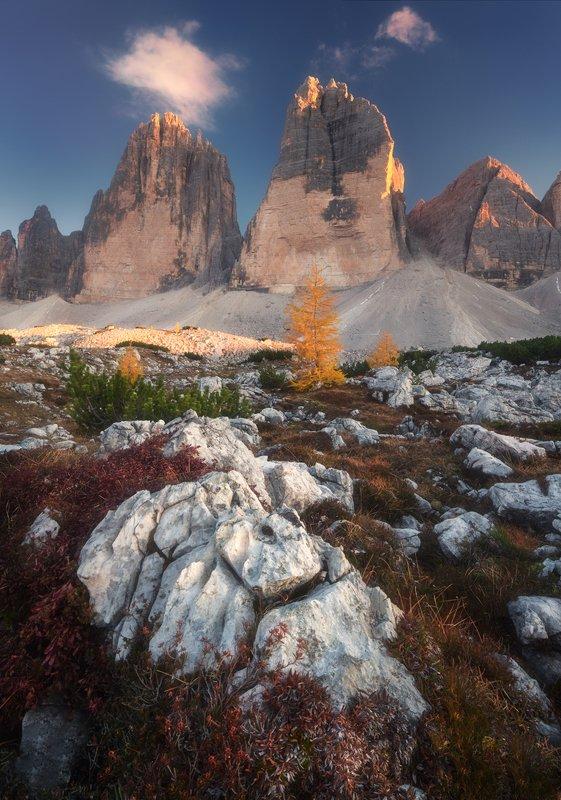 sv-phototravel.com, dolomites, tre cime di lavaredo зарисовочка из Доломитовых Альпphoto preview