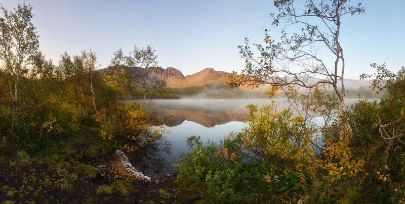 малый вудъявр, хибины, кировск, кольский Ранним утром в Хибинахphoto preview