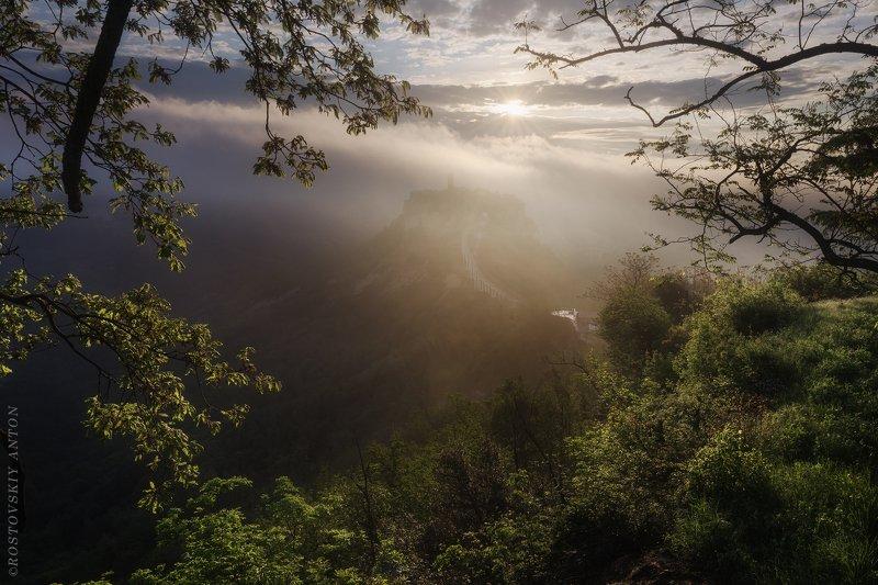 Италия, Лацио, утро, восход, Утро в Италииphoto preview