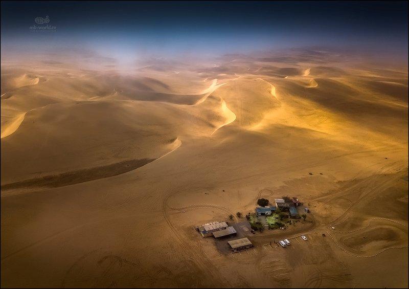 Намибия, дрон, фотопутешествие Оазис в пустынеphoto preview