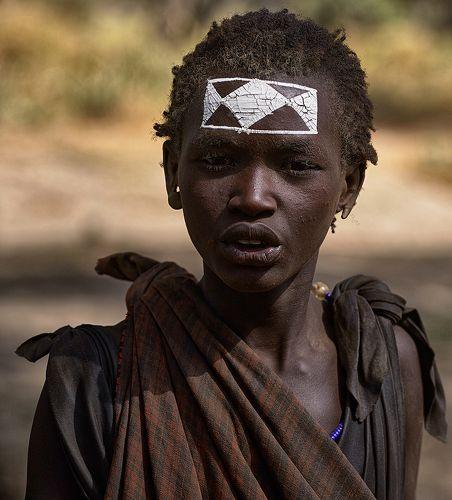 Юноша из племени Масаи