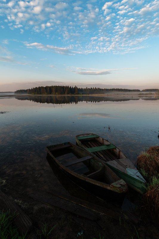 лето,рассвет,весна Утро на речкеphoto preview