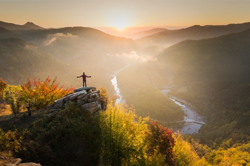 bulgaria, rhodope,mountains,sunrise,travel,adventure,autumn, journey With the breath of a journeyphoto preview