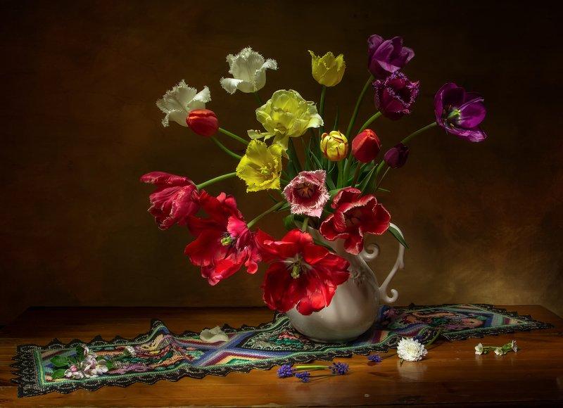 натюрморт, тюльпан, тюльпаны Время тюльпанов....photo preview
