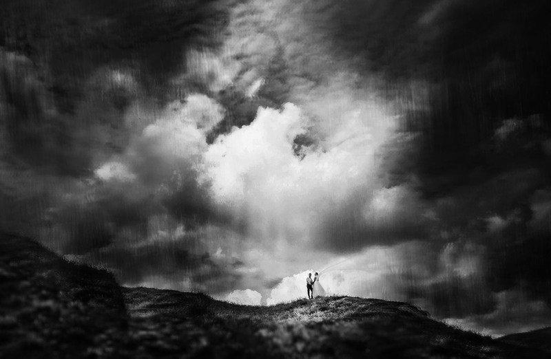 свадьба,природа,небо Над облакамиphoto preview