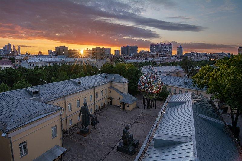 закат город  В Доме Художниковphoto preview