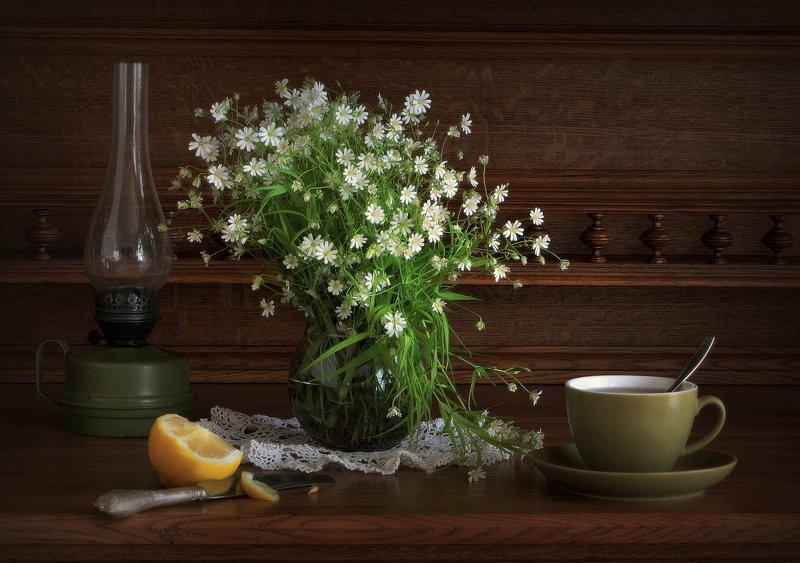 сергей алексеев, натюрморт Чай с лимоном 2photo preview