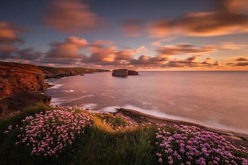 Ireland, Longexposure, Ocean, Landscapes, seascapes, sunrise, sunset, clouds,  Kilkee Cliffsphoto preview