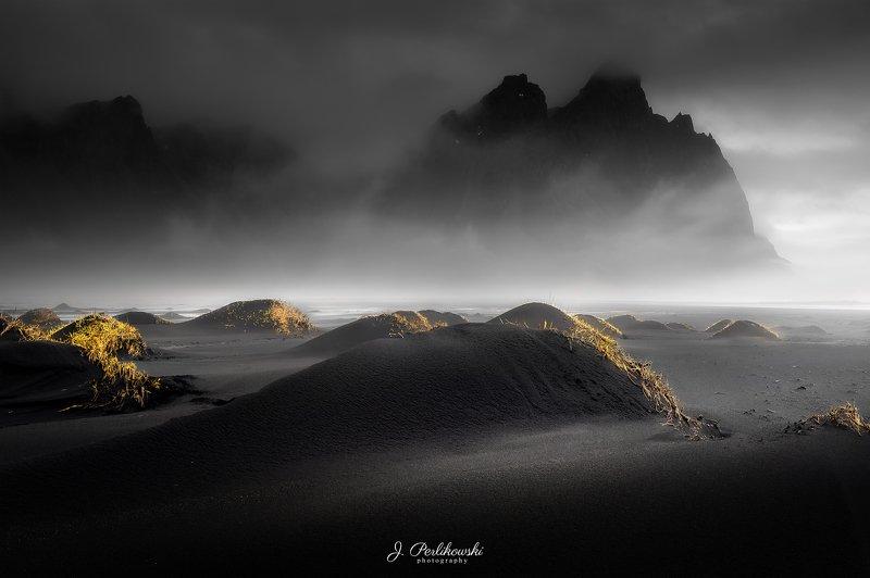 iceland, black beach, mood, landscape, dark mood, Dark moodphoto preview