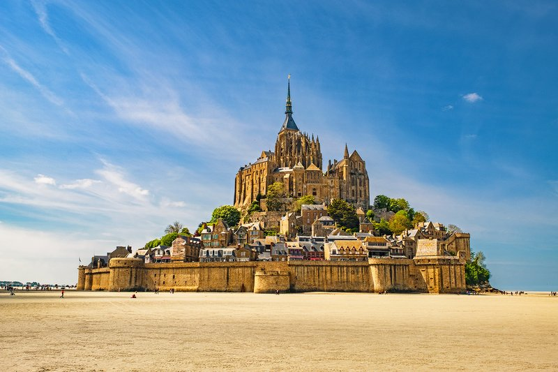 saint michel, france, normandie, нормандия, франция, сант мишель [le mont-saint-michel]photo preview