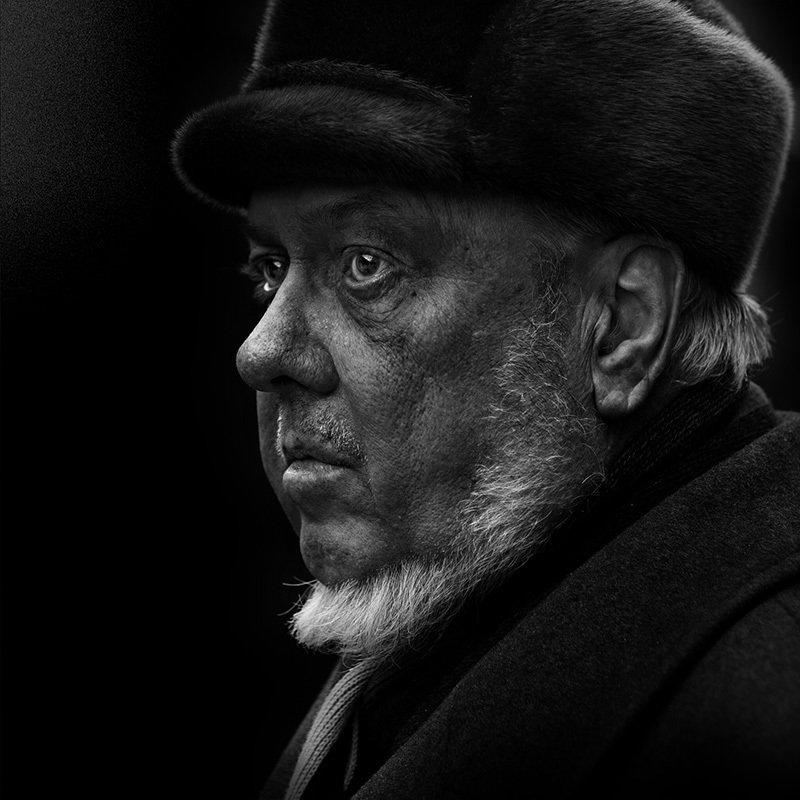 портрет, юрий_калинин, лица, черно_белое, юрец, уличная_фотография, люди драмаphoto preview