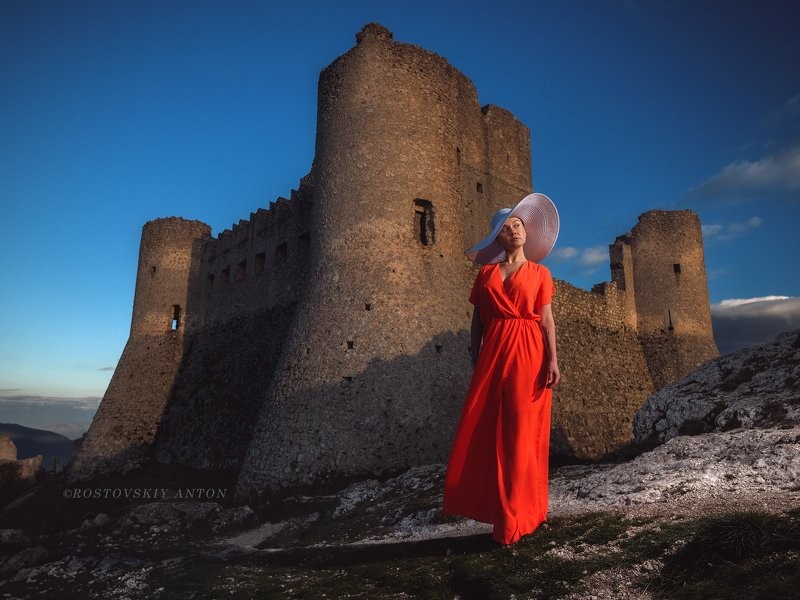 Италия, broncolor, фототур, модель, закат на закатеphoto preview