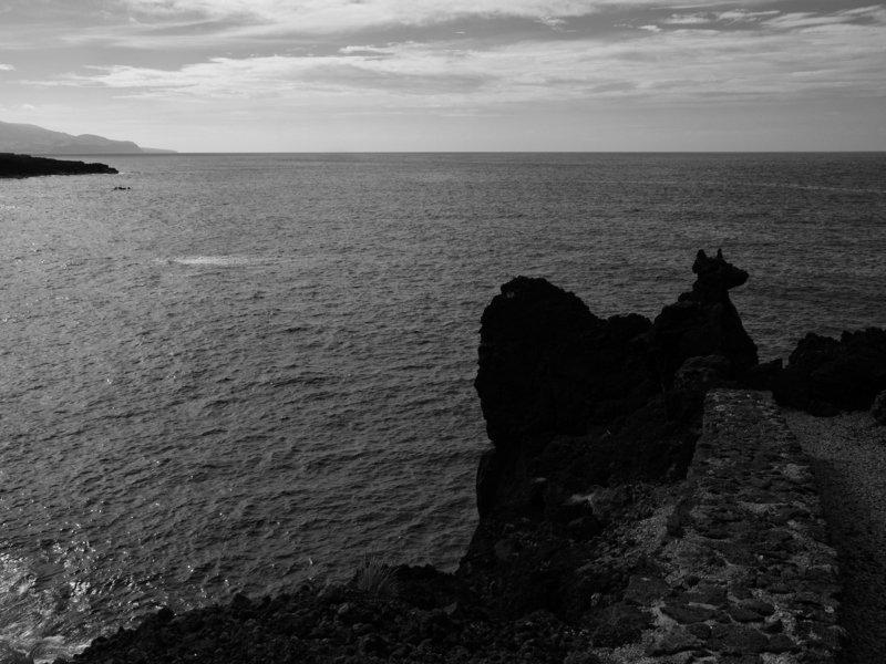 Azores, Black and white, Monochrome, Portugal, Atlantic ocean The Atlantic ocean dogphoto preview