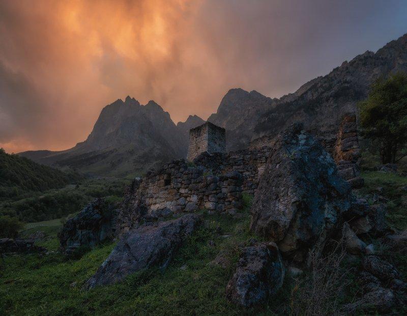 кавказ, ингушетия Горная Ингушетия.photo preview