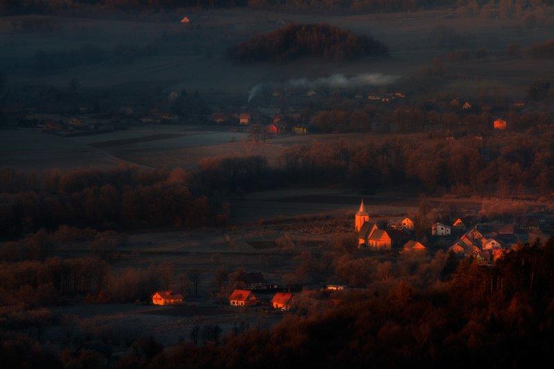 landscape,canon,mist,light,autumn Sunrise Song!photo preview