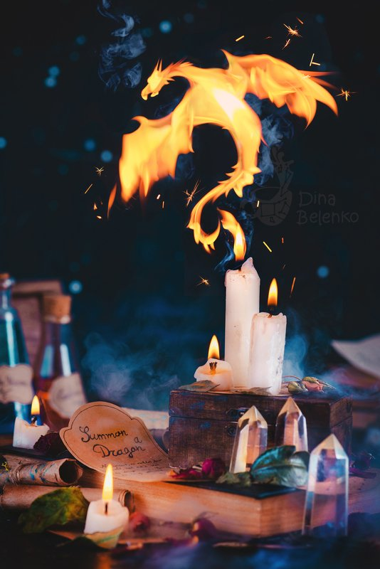 Candle Dragon фото превью