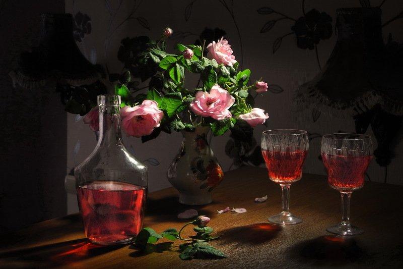 Чайная роза. Ликёр из лепестков - аромат любви. фото превью
