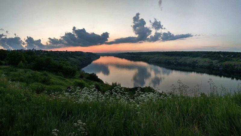 sunset,закат,пейзаж,небо,цвет, Вечерphoto preview