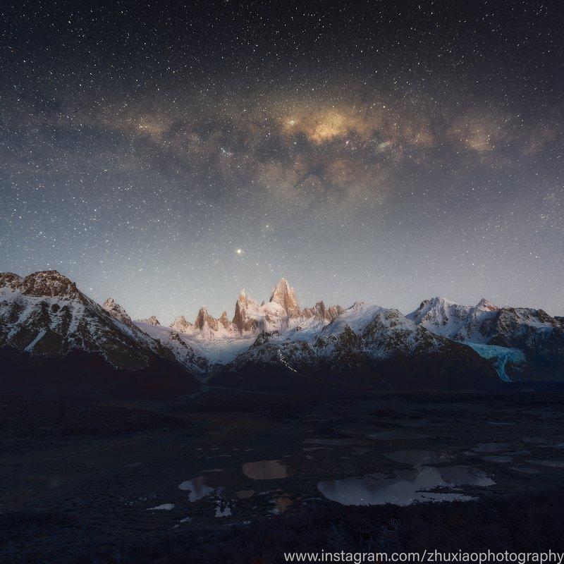 Звездное небо в Патагонииphoto preview