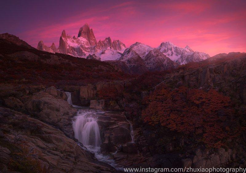 Восход солнца в Патагонииphoto preview