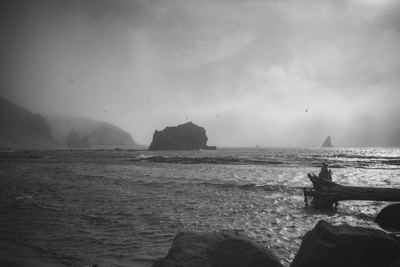 туман море пейзаж Туманphoto preview