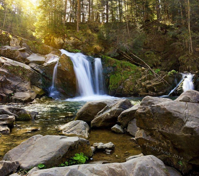 Водопад Каменка.photo preview